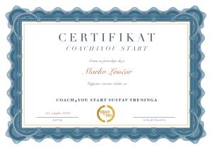 Coach4You start sustav treninga - Goran Špaleta
