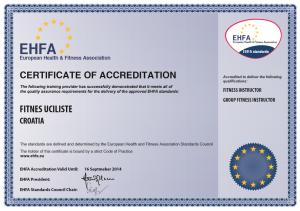 EHFA-certifikat